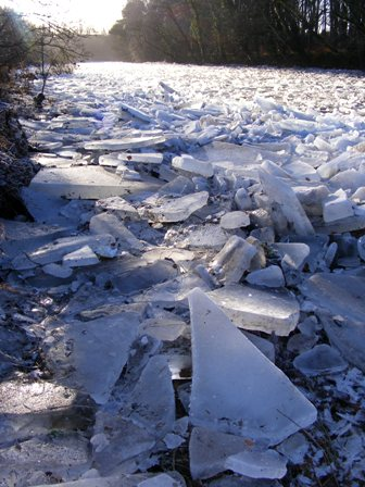 River of ice