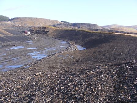 South valley face nearly complete