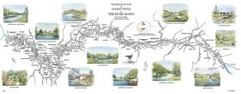 River Doon Map Print