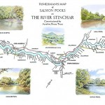 River Stinchar Map Print