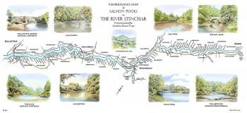 River Stinchar Map Print