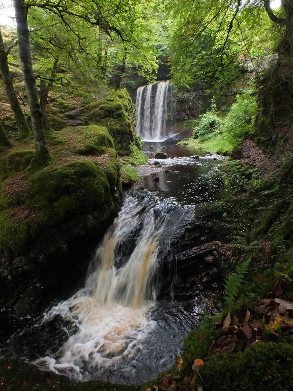 The Impressive Dalcairnie Falls.