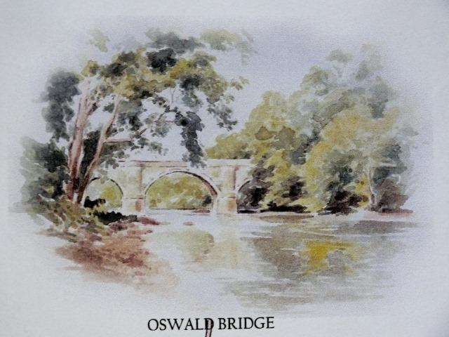 Oswald Bridge near Auchincruive