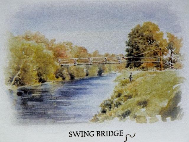 The bridge at Limmerhaugh on the upper Ayr