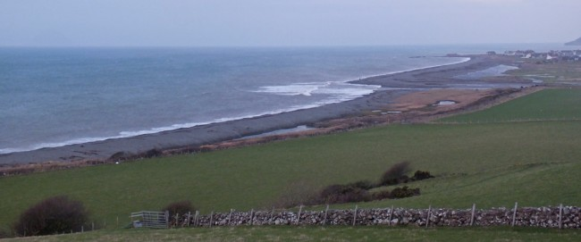 The mouth of the Stinchar at Ballantrae.