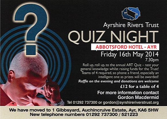 Quiz Night - 16th May