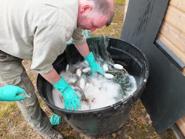 Disinfecting-net