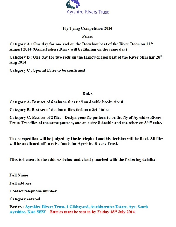 Fly Tying Competition