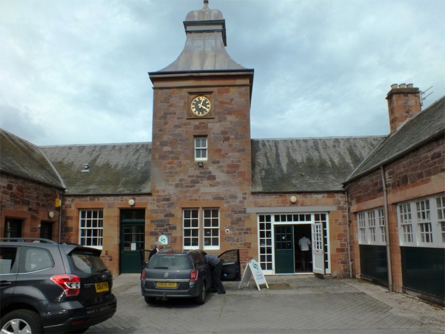 The splendid Tweed Foundation offices and building.