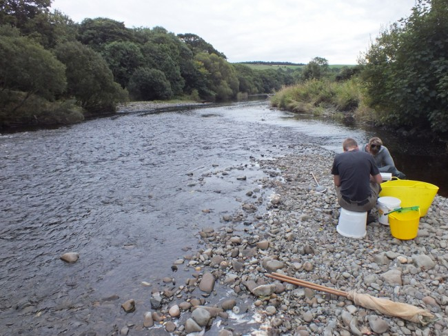 The new site that we fish upstream of the Tig confluence at Balnowlart Farm