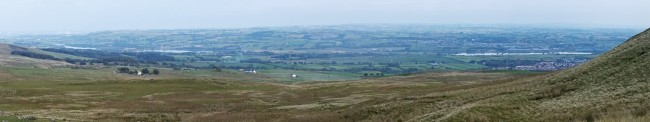 Panoramic view from Glasgow to Kilbirnie