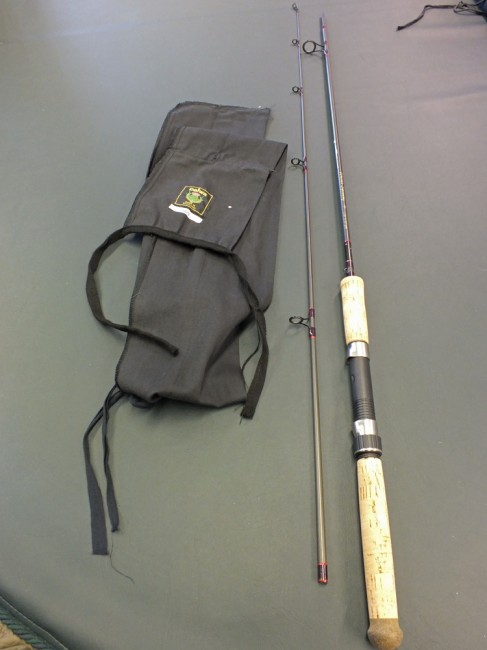 Daiwa Whisker 7' spinning rod in very good used condition (details to follow)