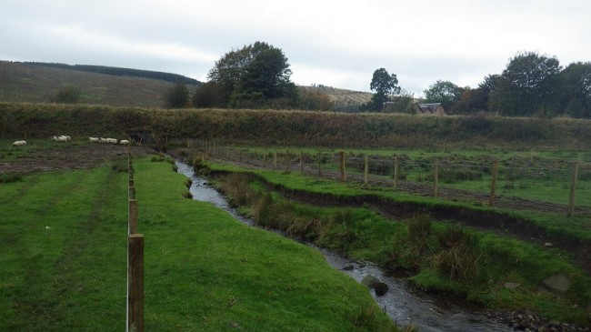 Drumgrane Burn where erosion was an obvious problem