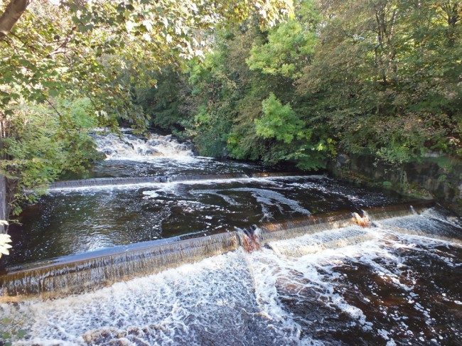 Black Rock waterfall and weirs. All looking good and standing up to the test of time.