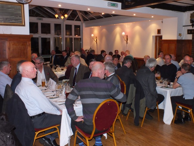 Almost 80 people attended the evening at the Abbotsford Hotel which was an excellent and spacious venue