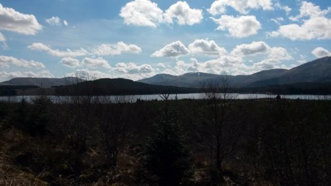 The Galloway behind Loch Riecawr.