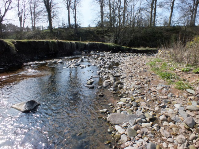 Severe and accelerated erosion on the Culroy Burn