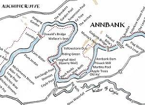 River Ayr Map