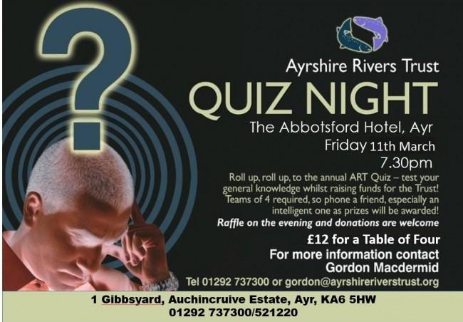 Quiz Night 11th March 2015